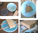 遊楽窯 粘土再生 石膏型